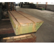 Working plates 3550X1100 Used