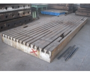 Working plates 5500X2800 Used