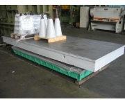 Working plates 4000X1500 Used