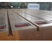 Working plates 12.500 x 3.250 Used