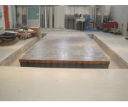 Working plates 6000X3500 Used