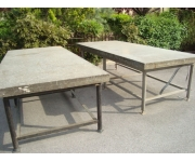 Working plates 3000X1050 Used