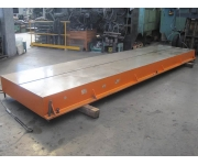 Working plates 5770X1300 Used