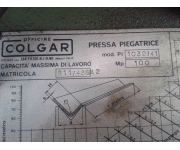 Presses - brake colgar Used