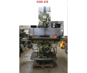 Milling machines - vertical first Used
