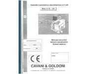 Bending rolls CAVANI&GOLDONI Used