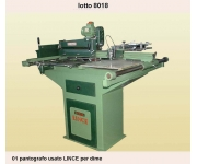 Engraving machines LINCE Used