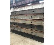 Working plates 3500x1750x350mm Used