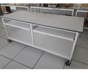 Office, furniture and machinery tavoli da lavoro Used