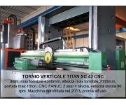Lathes - vertical titan Used
