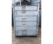 Unclassified Contenitori zincati per trasporto materiali non impilabili Used