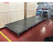 Working plates 4500X1500 Used
