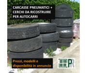 Unclassified Carcasse pneumatici + cerchi da ricostruire per autocarri – PREZZI IN ANNUNCIO Used