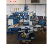 Milling machines - vertical  New