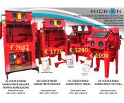 Sandblasting machines MICRON New