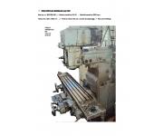 Milling machines - tool and die rambaudi Used