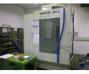 Milling machines - vertical mikron Used